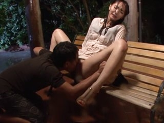 Horny Japanese whore Nono Mizusawa in Crazy masturbation, outdoor JAV video