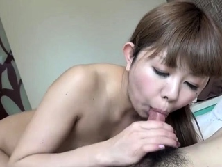 Passionate Japanese hardcore fuck with slut