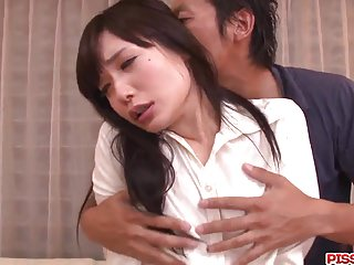 Strong blowjob and heavy sex with  Tsukushi